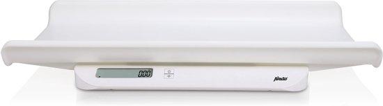 Alecto BC-10 Baby en peuterweegschaal | Best verkochte babyweegschaal | Wit