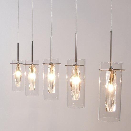 Freelight chiuso h4705s hanglamp 5 lichts for Freelight lampen