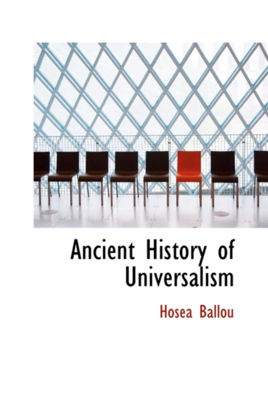 Ancient History of Universalism