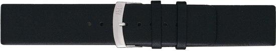 Morellato PMX019LARGE IG horlogebandje - Leer - Zwart - 20 mm