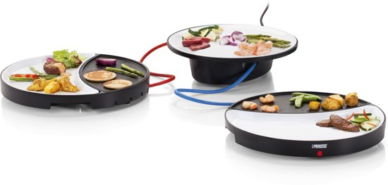 Princess Dinner 4 All 104002 - Grillplaat - 36,2 L x 35 B cm