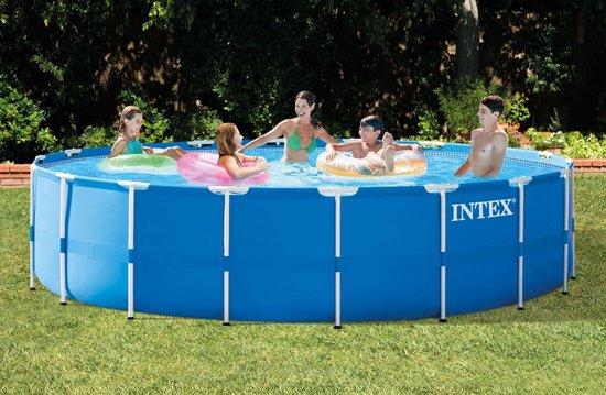 Intex Metal Frame pool 549 x 122cm incl. accessoires