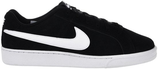 Nike Court Royale Suede Sneakers Heren - Black/White