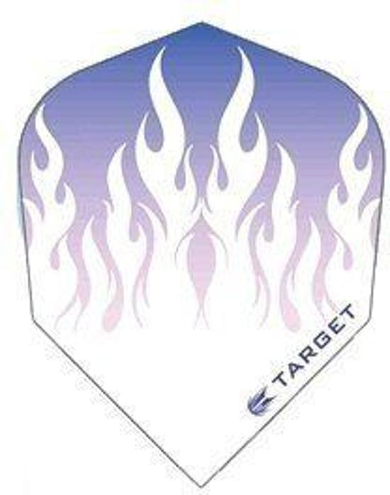 Target Pro 100 White Flames