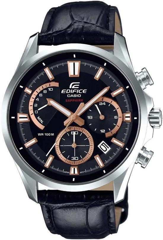 Casio Edifice Chronograaf Saffier Horloge