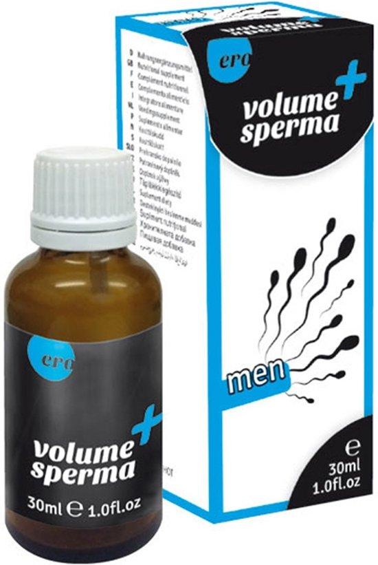 Volume sperma druppels