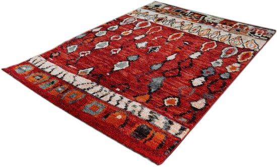 Karpet Marokko 834-75 Rood 160 x 230 cm