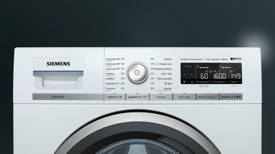 Siemens WM16WH67NL iQ700 - HomeConnect - WiFi - Wasmachine