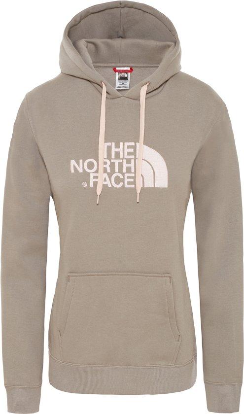 Dames Hoodie Drew North Trui Peak Silt Pullover The Face Grey E0W46qn0P