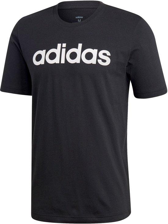adidas Shirt - Maat XL - Mannen - zwart/wit