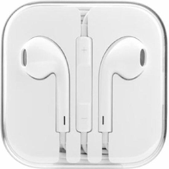 Oordopjes voor een iPhone 5 / SE / 5C / 5S / 6 / 6S / 6 + 6S Plus / Headsets Wit