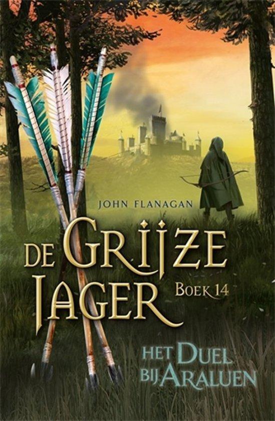 Boek cover De Grijze Jager 14 - Het duel bij Araluen van John Flanagan (Hardcover)