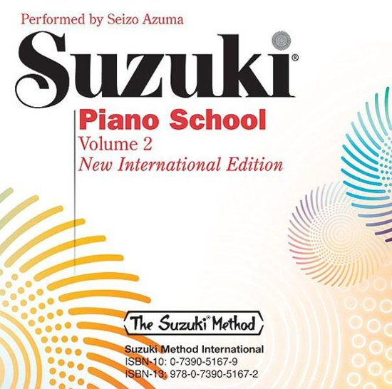 Suzuki Piano School New Int. Edition CD, Volume 2