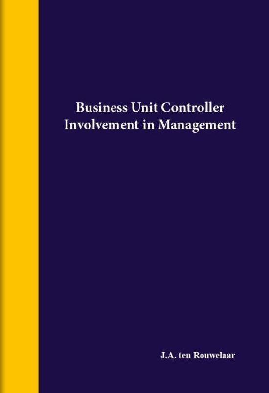 dissertatie 1 Business unit controller
