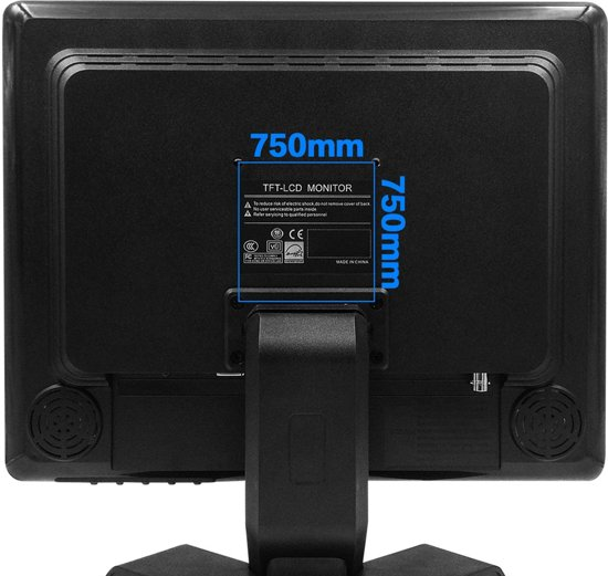 15 Inch TFT-LCD Monitor, HDMI/BNC/AV/VGA Input - 1080x1024, 4: 3, High-resolution