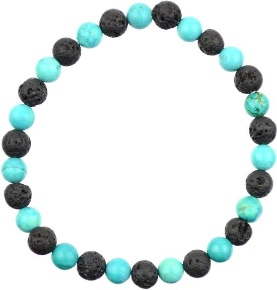 turquoise Rekarmband | Alshain | XXXL - 23 cm