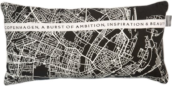 Riviera & Maison - RM Ambition cushion Black 30x60