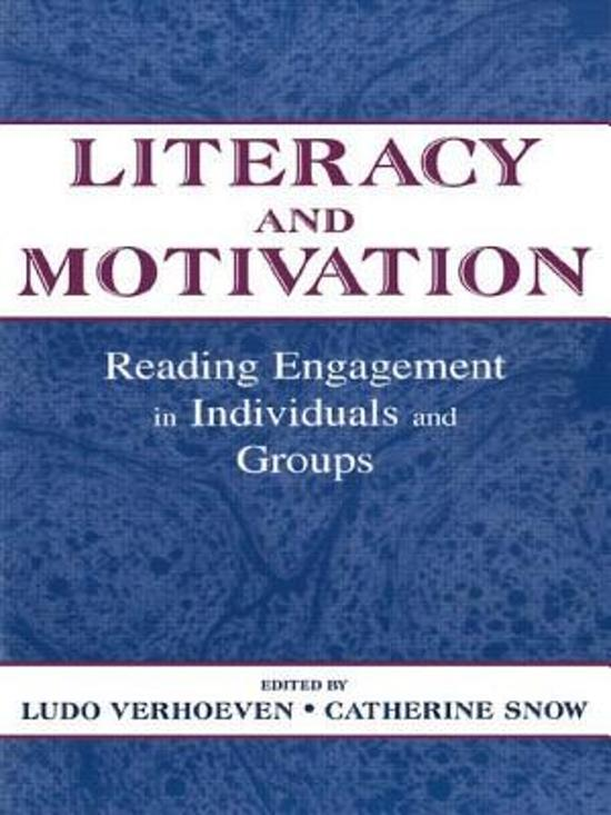 Literacy and Motivation