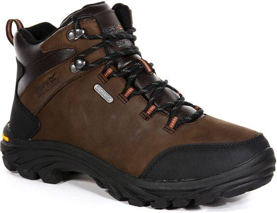 burrell mannen Leather 43 bruin maat Regatta wandelschoenen NOkX8nwZ0P