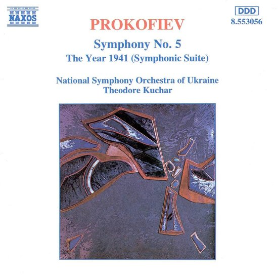 Prokofiev: Symphony no 5, etc / Kuchar, Ukrainian NSO