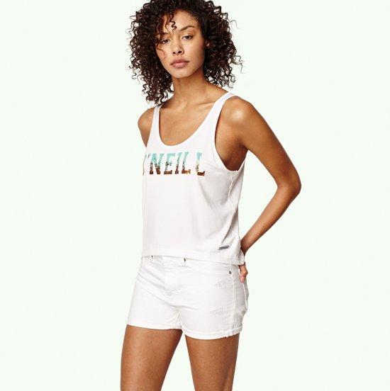 O'Neill Active Crop A Line - Sportshirt - Dames - L - Wit