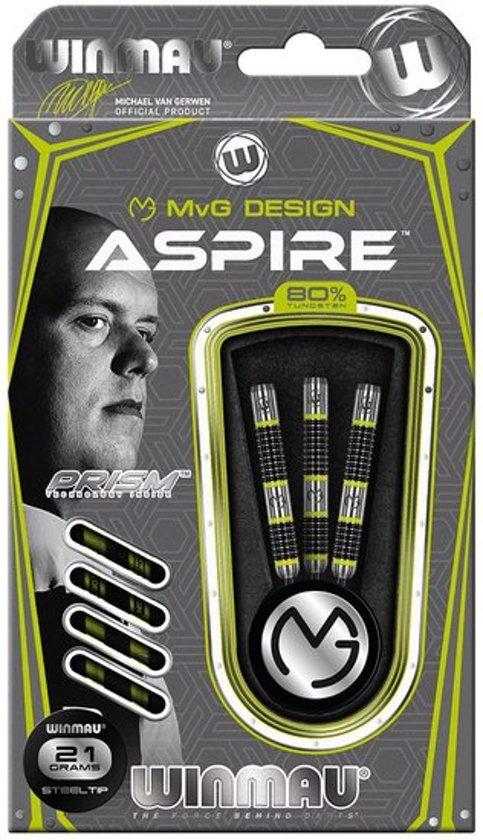 Winmau Michael van Gerwen Aspire 80% tungsten steeltip dartpijlen 24 gram