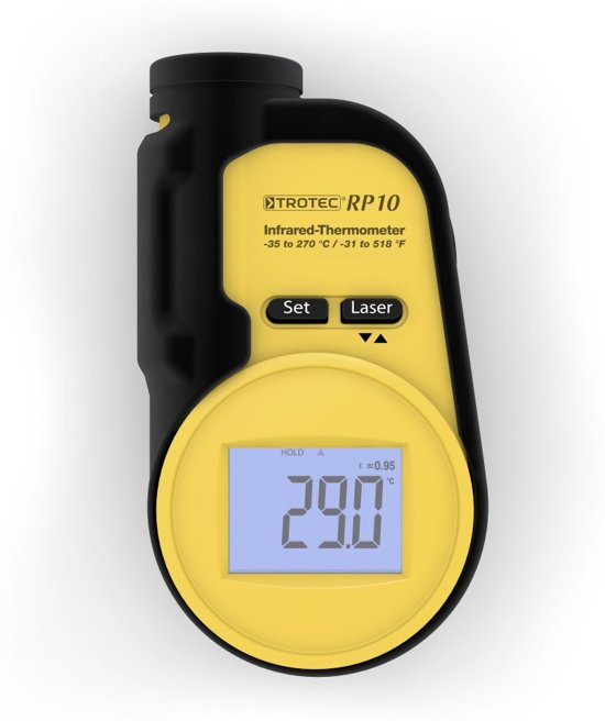 TROTEC Pyrometer / Infrarood-Thermometer RP10
