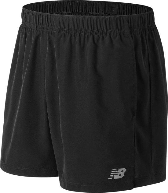 New Balance Accelerate 5In Short Sportshort Heren - Black