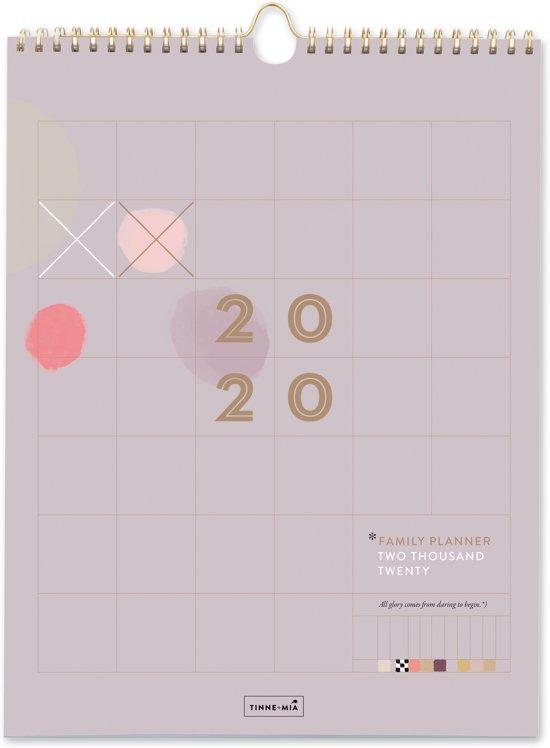 Tinne + Mia Familieplanner - 2020