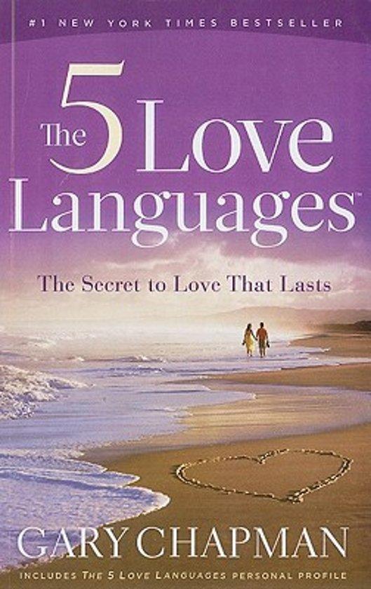 Boek cover The Five Love Languages van Gary Chapman (Paperback)