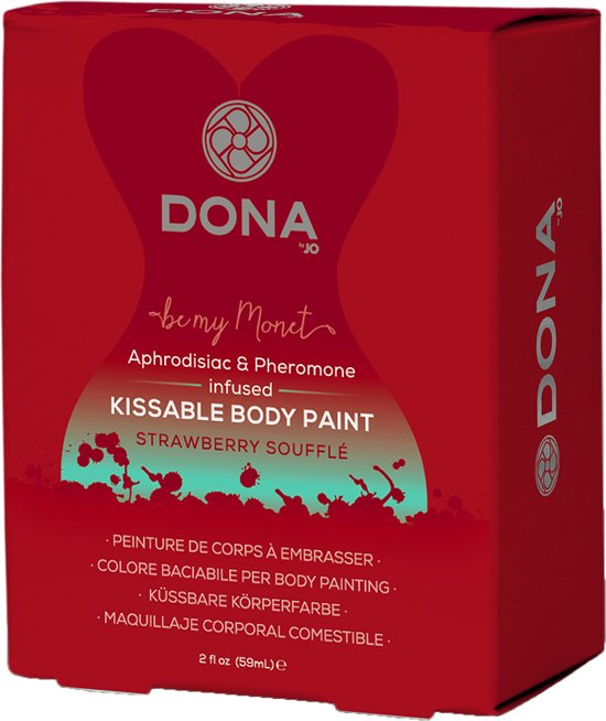 Dona Body paint Strawberry Souffle