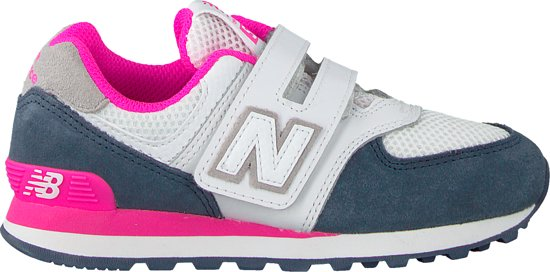 03e5e0d615c bol.com | New Balance Meisjes Sneakers Yv574 M - Wit - Maat 35