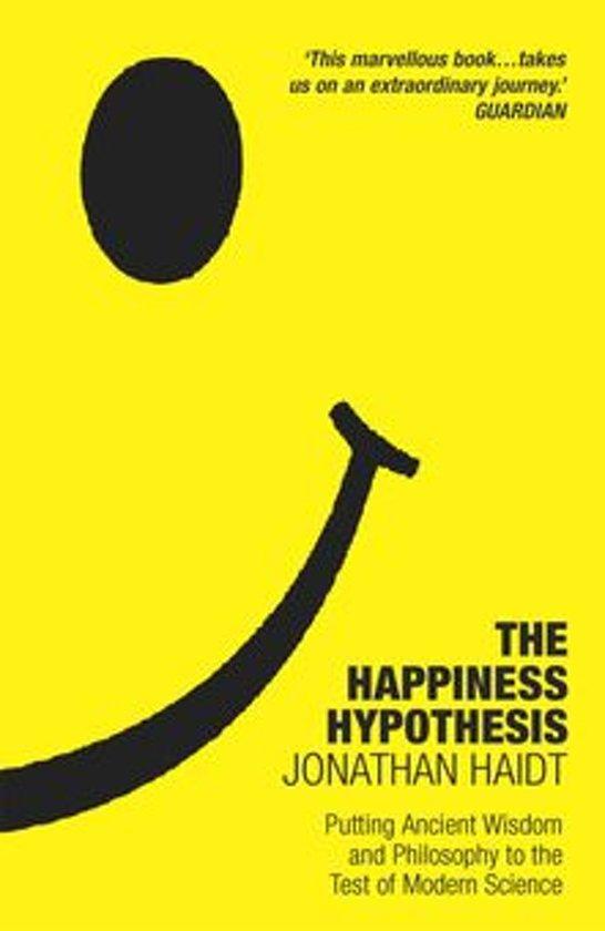Boek cover The Happiness Hypothesis van Jonathan Haidt (Onbekend)