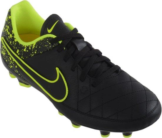 Nike - Tiempo Genio Fg Cuir Jr Football - Unisexe - Le Football - Noir - 34 BLJX1uR