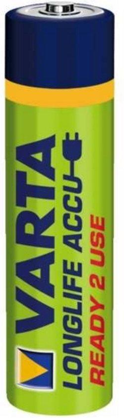 Varta AAA, 800mAh, NiMH oplaadbare batterij/accu Nikkel-Metaalhydride (NiMH) 1,2 V