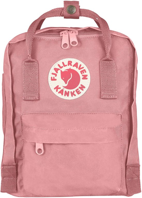 Fjallraven Kinderrugzak 20 Kanken L Mini Rugzak Pink Unisex OqxCUO7r