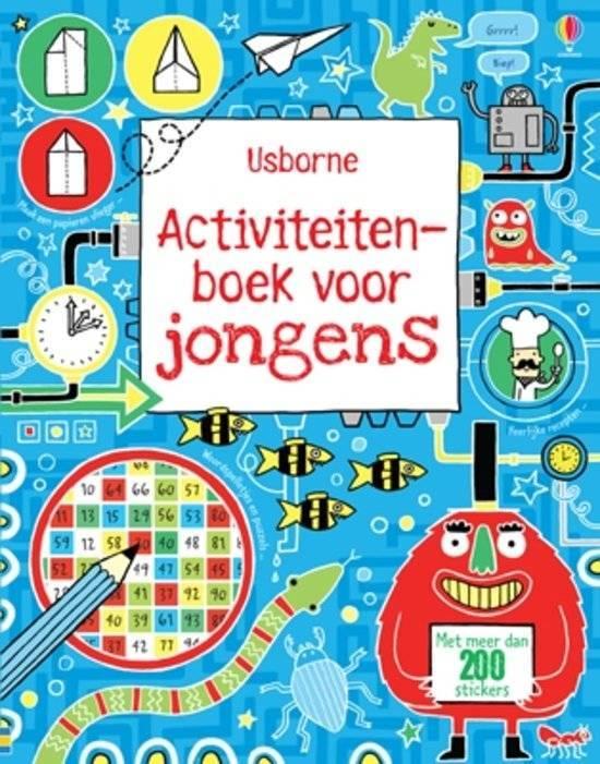 Activiteitenboek voor jongens
