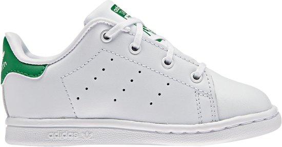 5b7d9fa3119 bol.com | Adidas Meisjes Sneakers Stan Smith I - Wit - Maat 22