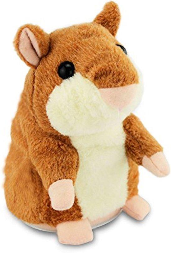 Pratende Knuffel - Hamster