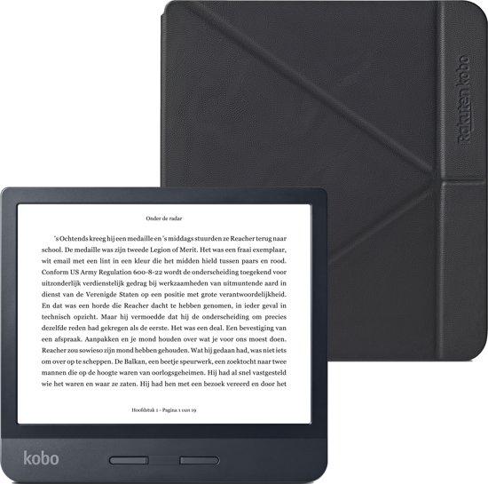 Kobo Libra H2O + Kobo sleepcover + 1 maand extra Kobo Plus ebookabonnement [Select-deal]