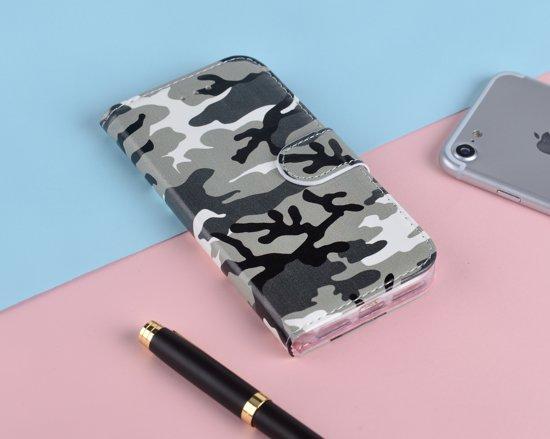 P.C.K. Hoesje/Boekhoesje luxe camouflage print geschikt voor Samsung Galaxy S10