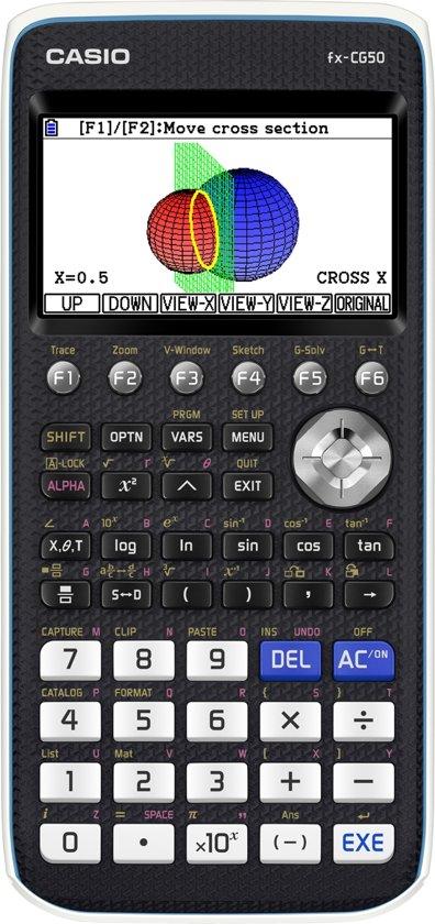 Afbeelding van Casio FX-CG50 Grafische Rekenmachine