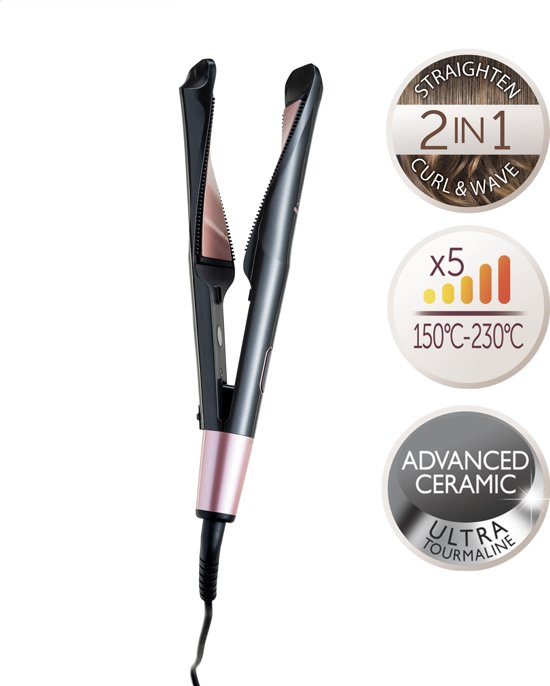S6606 Curl & Straight 2-in-1 Stijltang