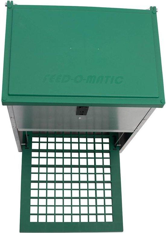 Feedomatic automatische voerbak(trapbak) 20kg voer