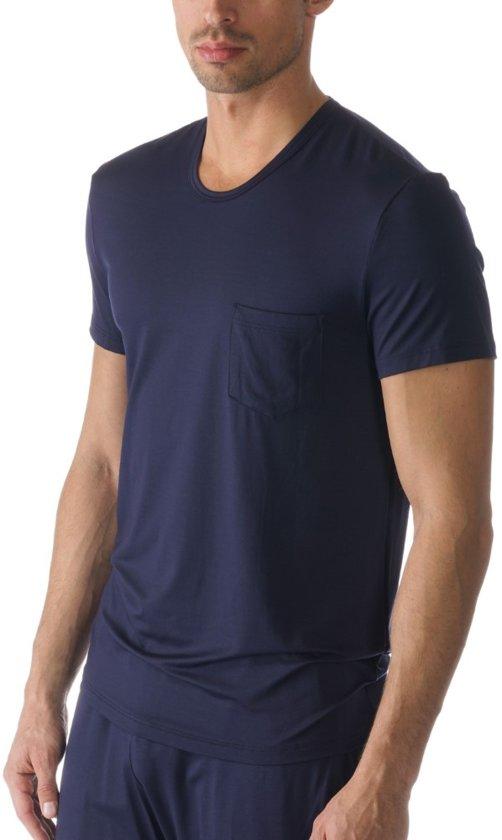 affa5ef6586 Mey Lounge Shirt korte mouw Club Coll Heren 65630 - L - Blauw