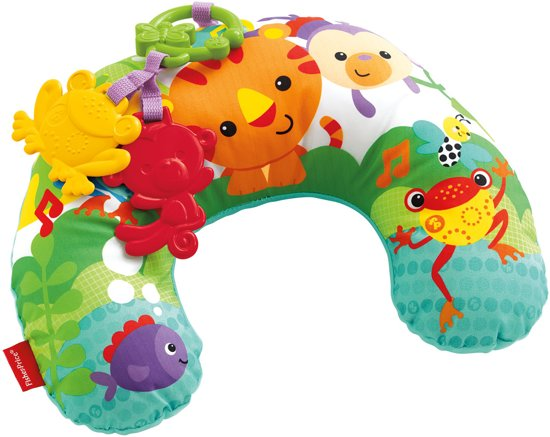 Fisher-Price Rainforest Buikligtrainer met Trilfunctie