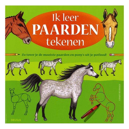 Bol Com Ik Leer Paarden Tekenen Jennifer Lipsey 9789044727531