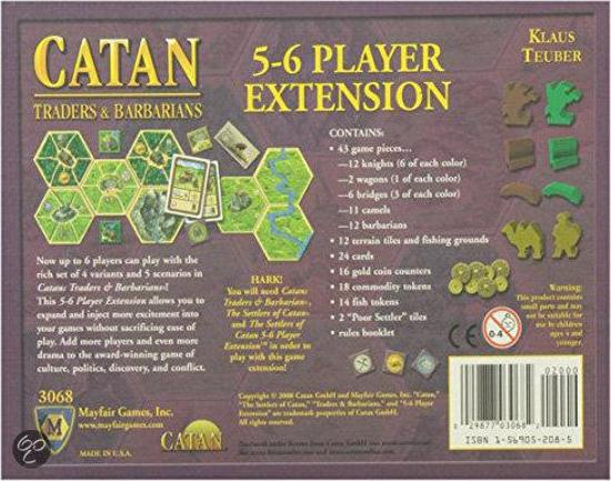 Settlers of Catan: Traders & Barbarians: 5-6 Player Extension