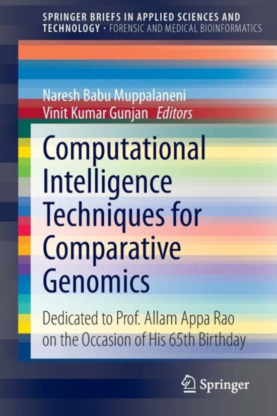 Computational Intelligence Techniques for Comparative Genomics