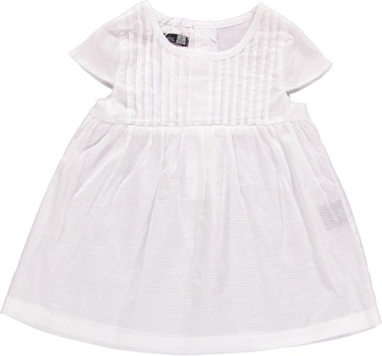 Losan meisjeskleding -wit jurkje - Z16-1 -Maat 92